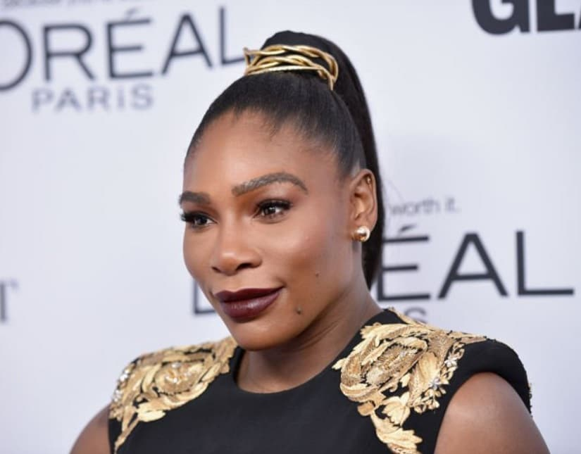 Serena Williams. Image from Twitter/@glowup