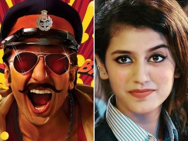 Priya Prakash Varrier will reportedly make her Bollywood debut with Ranveer Singh starrer Simmba