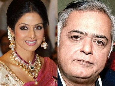Hansal Mehta reveals details of film planned with Sridevi: 'About a 50-year-old discovering her womanhood'