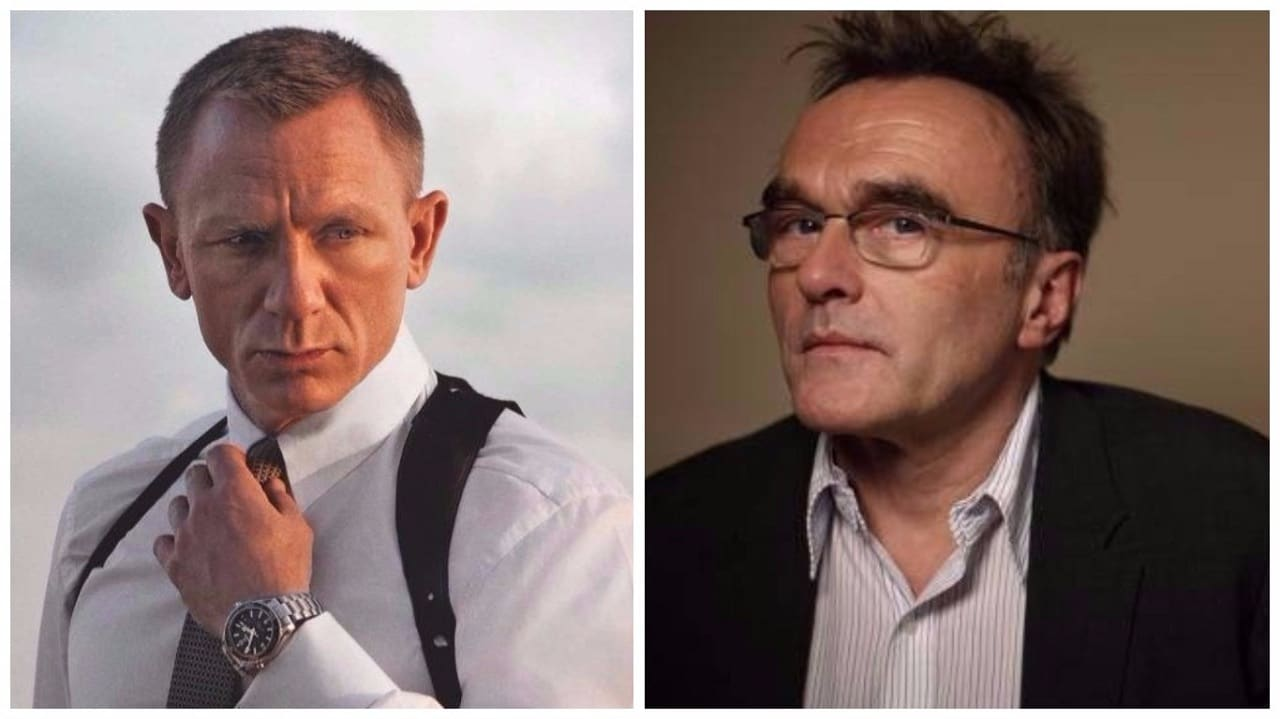 Daniel Craig and Danny Boyle. Images from Facebook