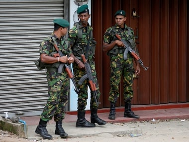 File image of security forces in Sri Lanka. Reuters