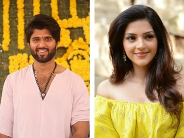 Vijay Deverakonda's Tamil debut titled NOTA; first look poster released: Film also stars Mehreen Pirzada