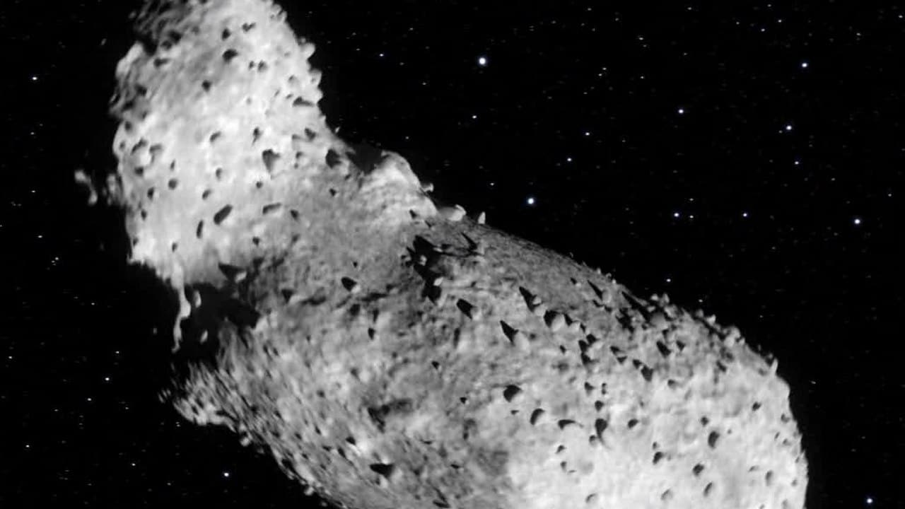 Water and organic material found in asteroid Itokawas sample JAXA returned to Earth