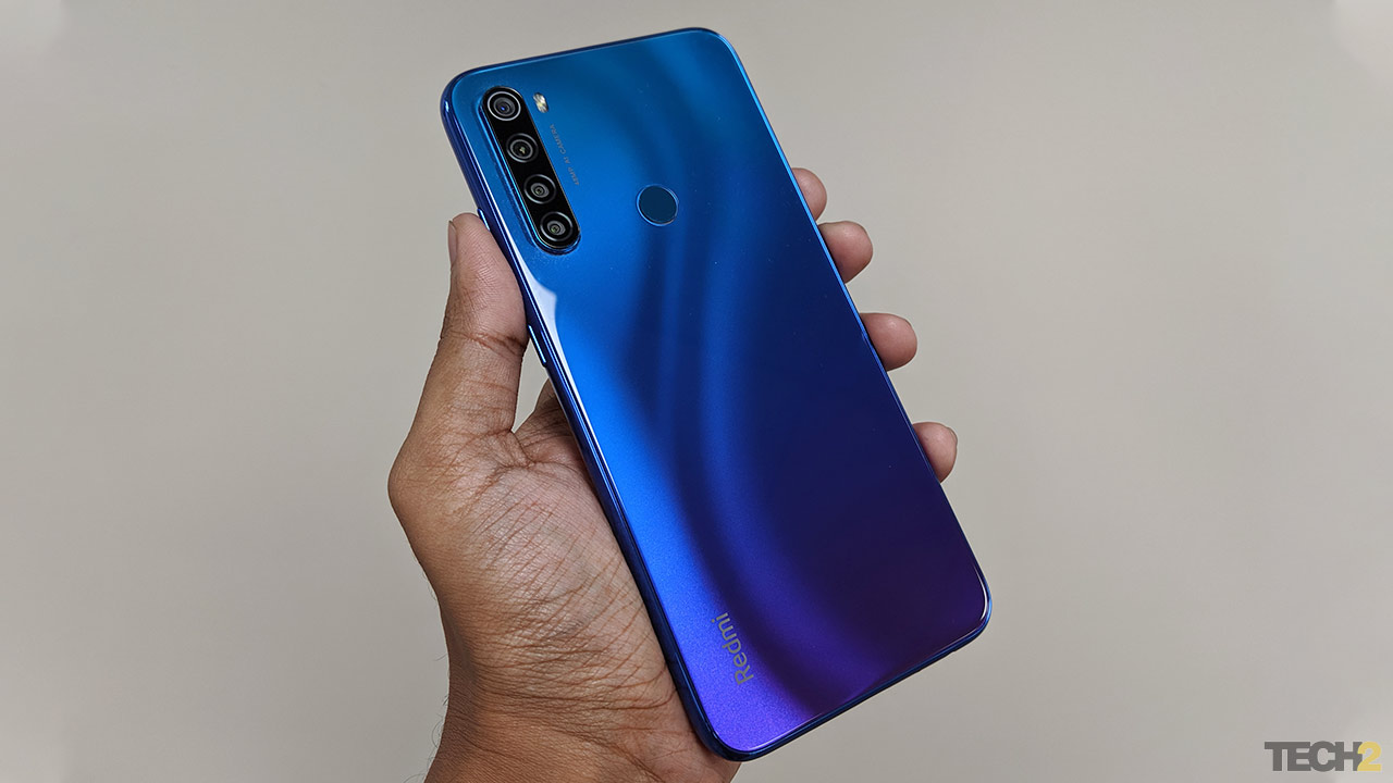 The Redmi Note 8.