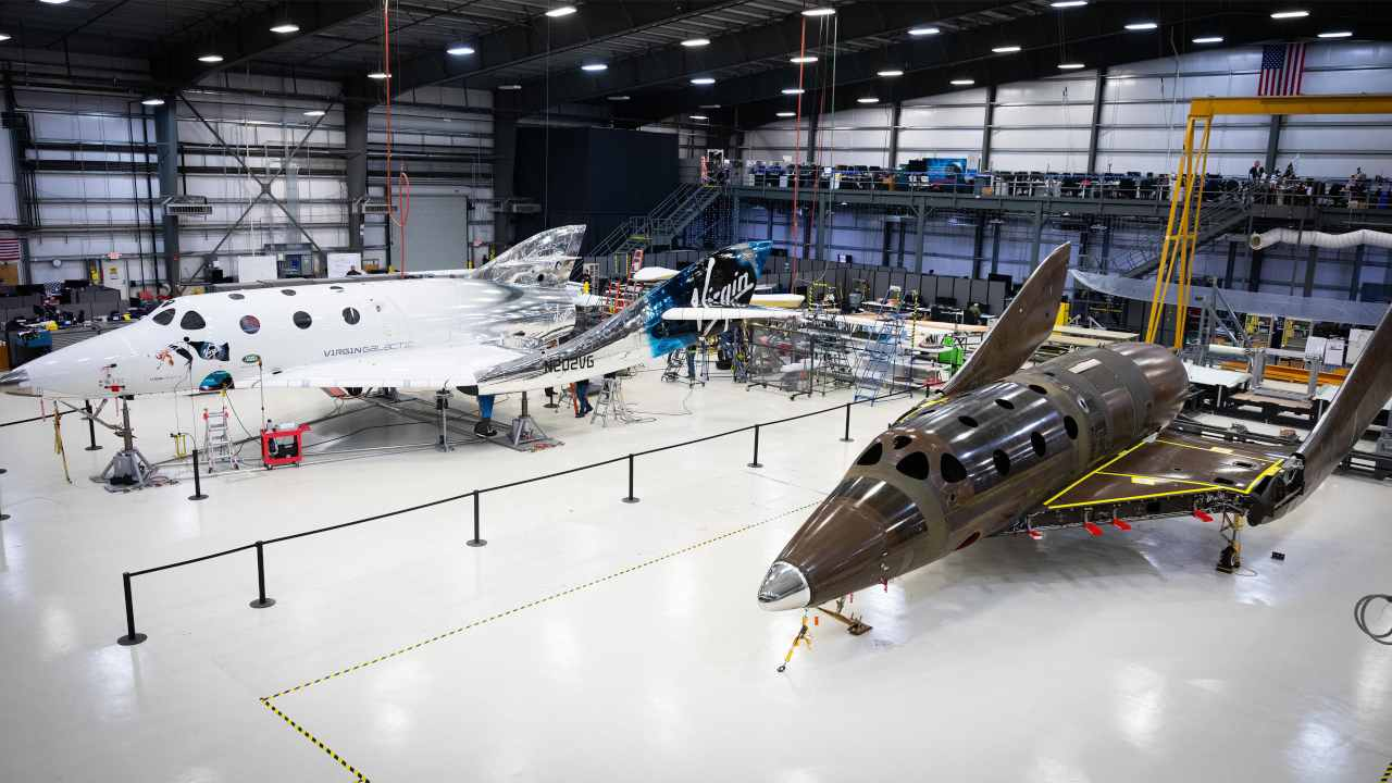 Virgin Galactic will carry private astronauts and space tourists to the ISS