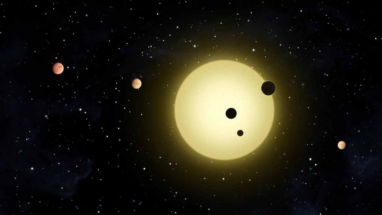 There's a Six-Planet System Orbital Harmony in Our Solar System