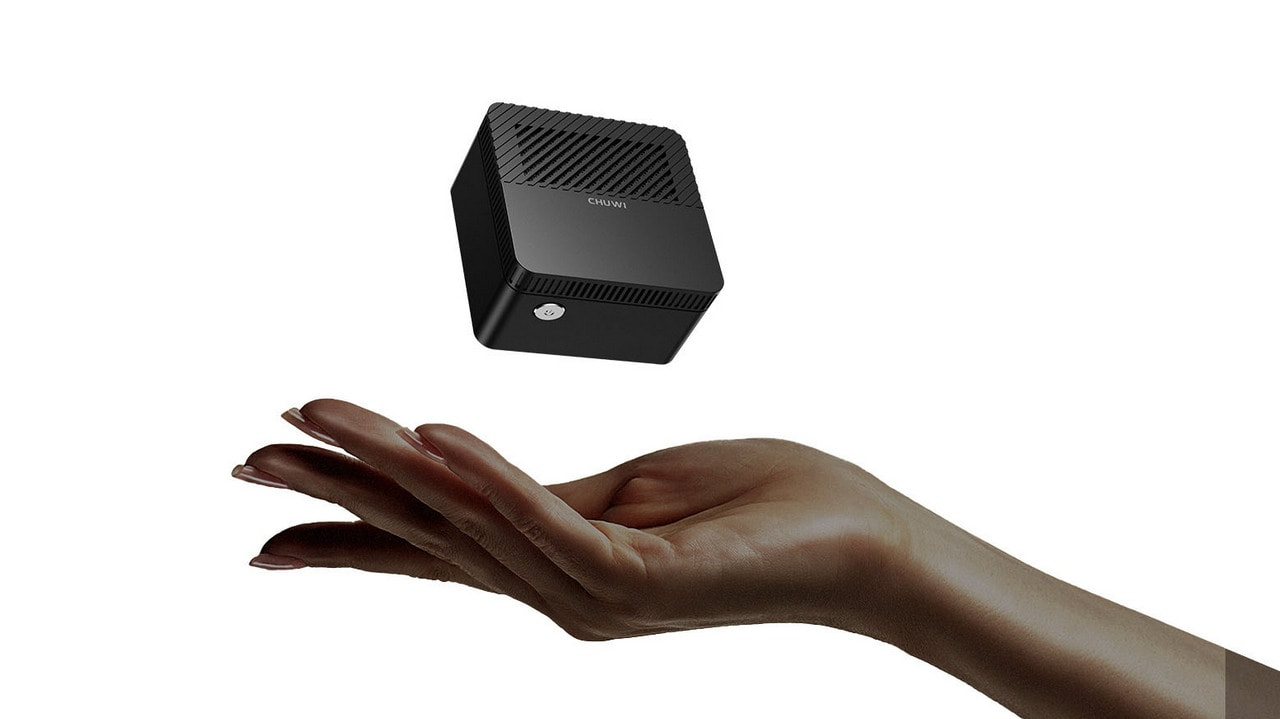 Chinese company Chuwi claims to have built the 'world's smallest mini PC', and it's called Larkbox