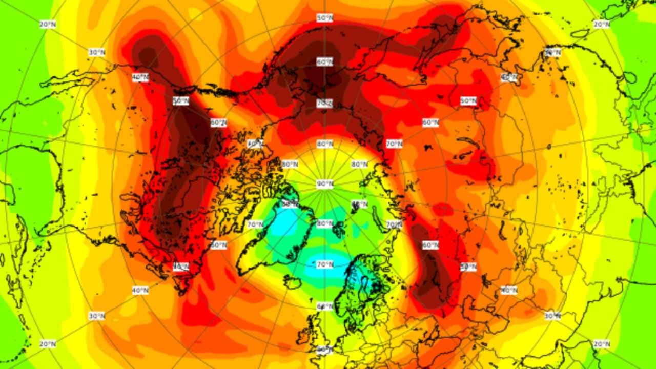 'Largest-ever ozone hole' over Arctic closes