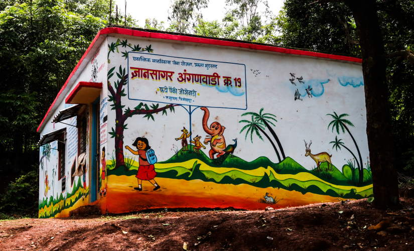 Several parents said that even the Anganwadi teachers are sending the content on mobile now