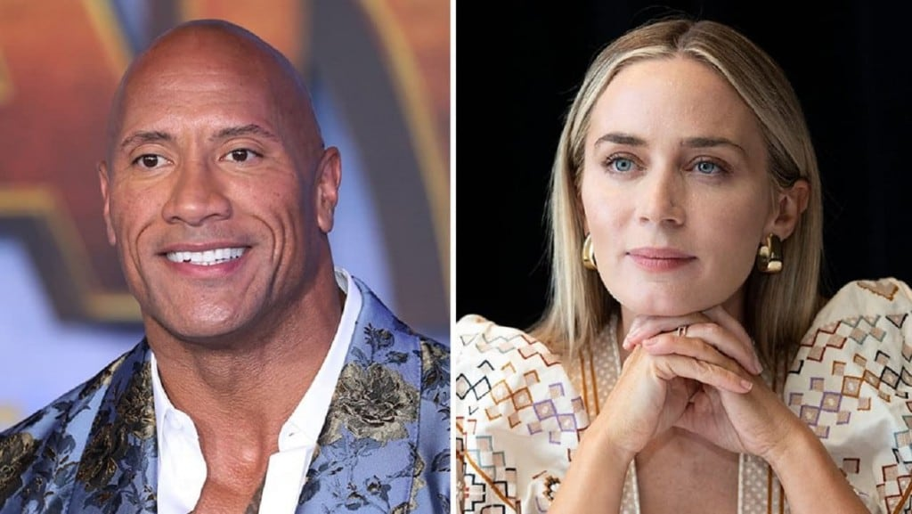 Dwayne Johnson, Emily Blunt to star in Ball and Chain