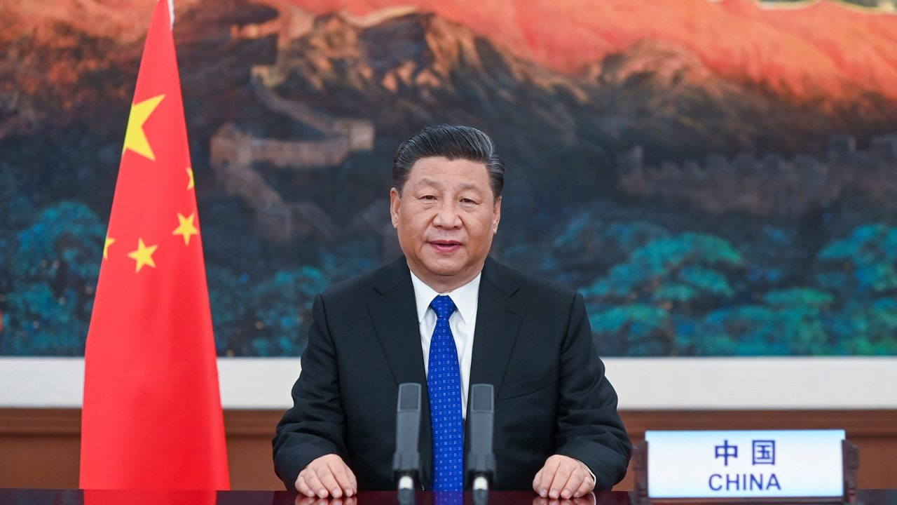 Xi praises World Health Organization and says vaccine will be a 'global public good'