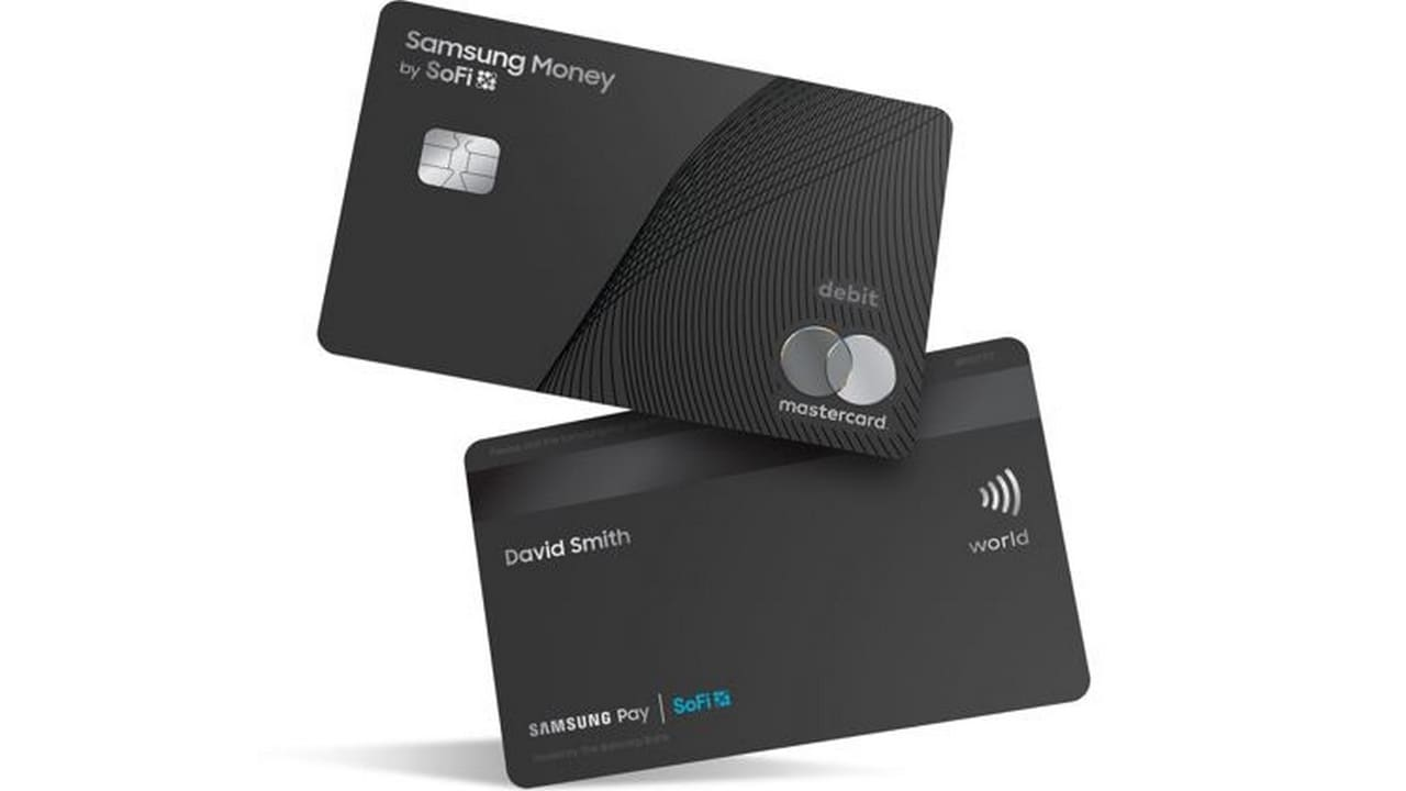 Yay, a Samsung Money by SoFi Debit Card