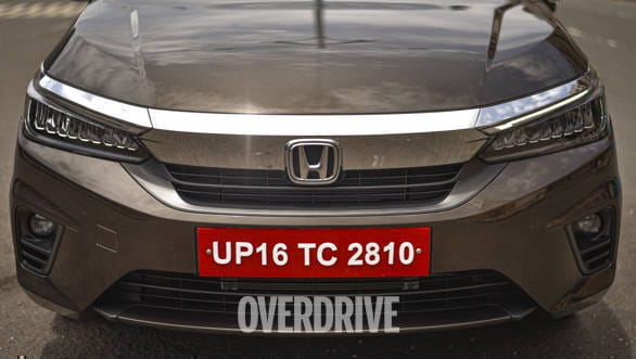 2020 Honda City grille. Image: Overdrive