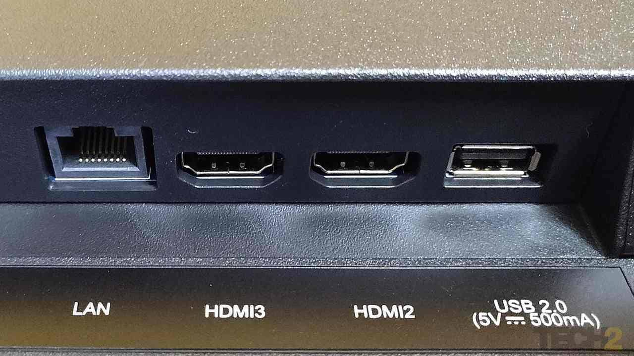 Bottom ports