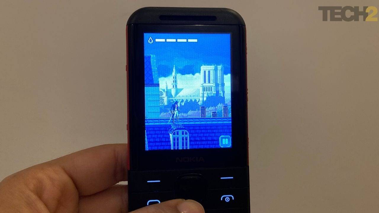 Assassin's Creed sur Nokia 5310. Image: tech2 / Nandini Yadav