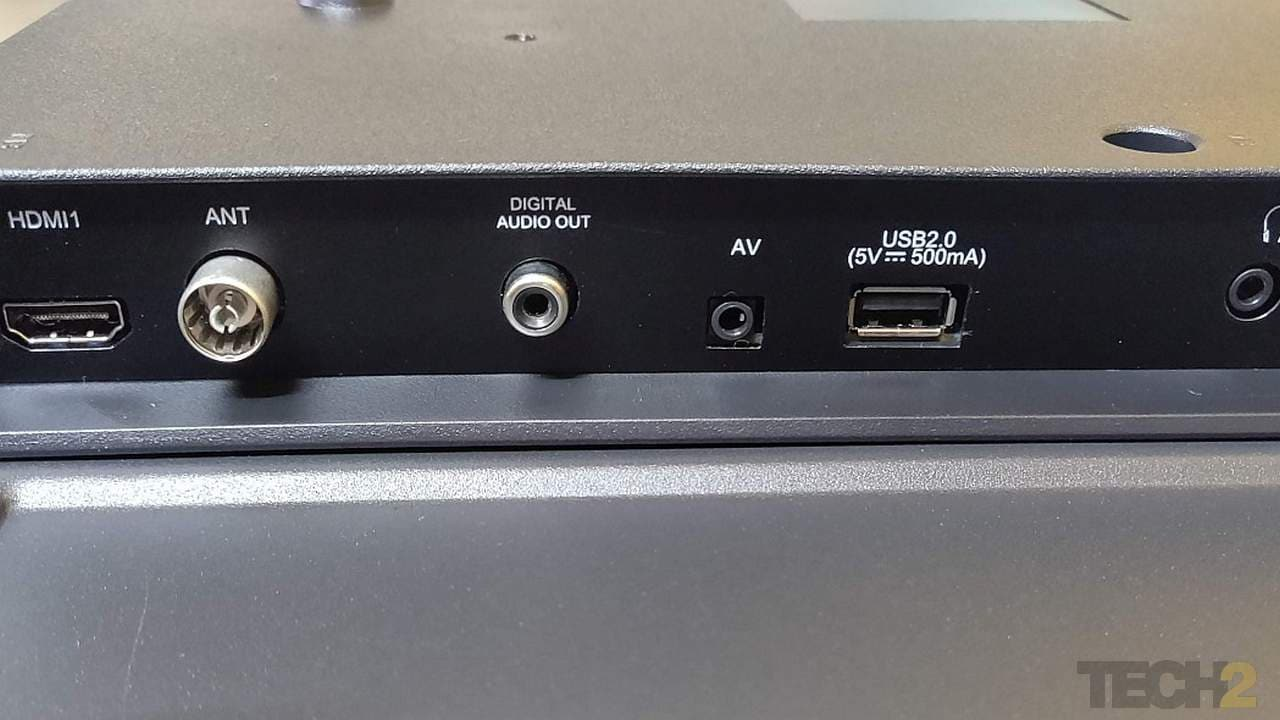 Side ports