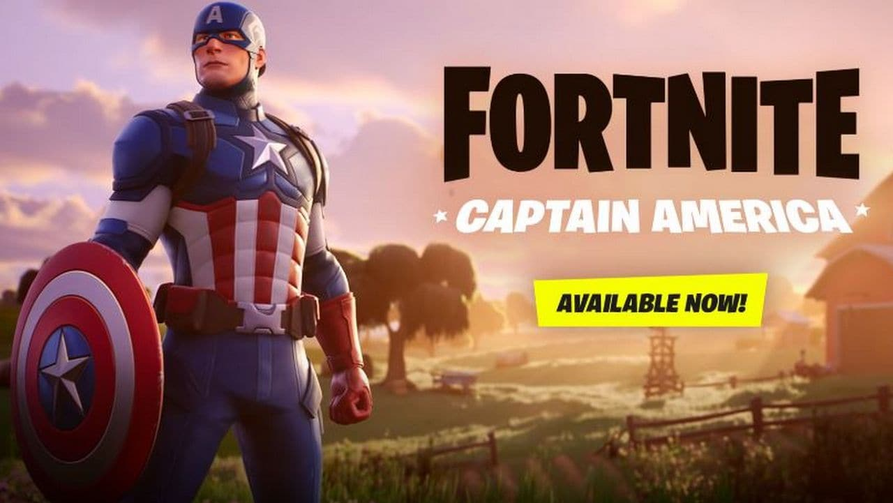 Fortnite Adds a New Captain America Skin to the Game