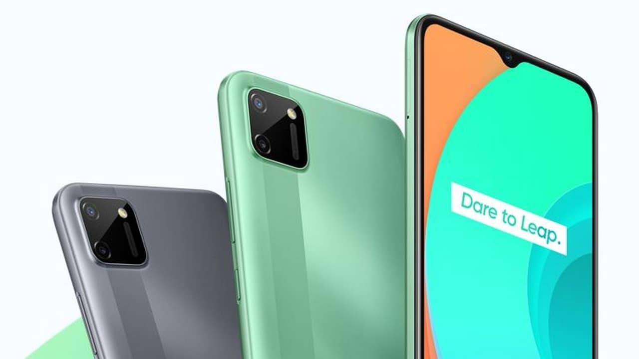 Realme C11, Realme 6i India launch today