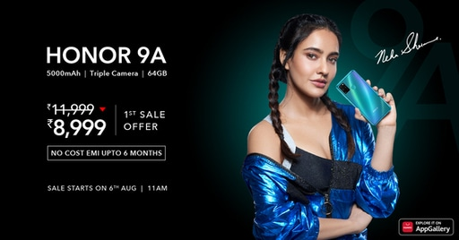 HONOR 9A and HONOR 9S - best all-rounder budget smartphones for under 10K price range!