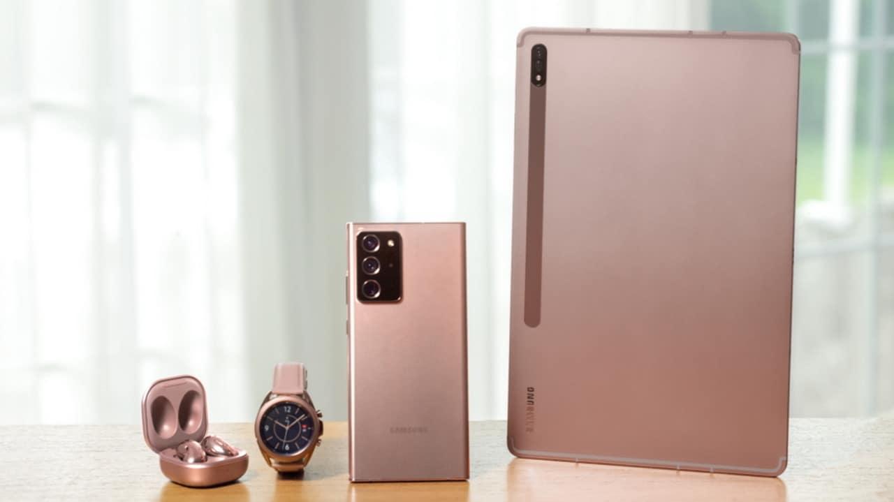 Lancement des séries Samsung Galaxy Note 20, Galaxy Z Fold 2, Galaxy Watch 3, Galaxy Buds Live et Galaxy Tab S7