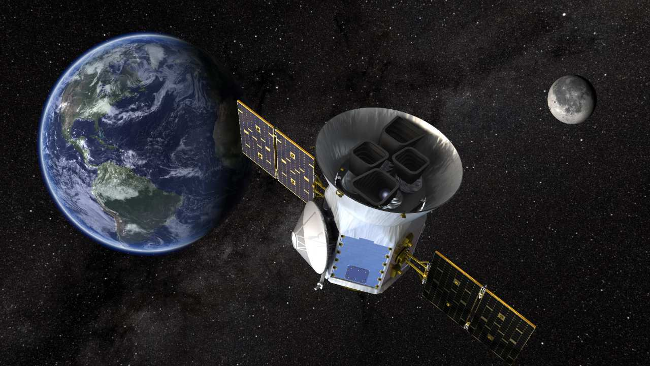 NASA's Transiting Exoplanet Survey Satellite (TESS) has completed its two-year primary mission and is continuing its search for new worlds. Image credit: NASA