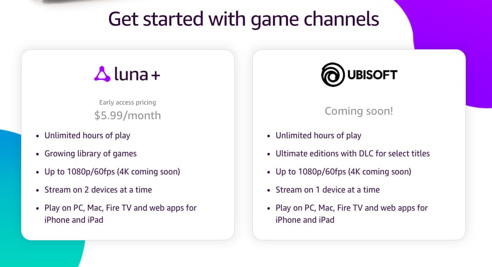 Amazon announces new Stadia-like gaming service called Luna, Luna controller also announced