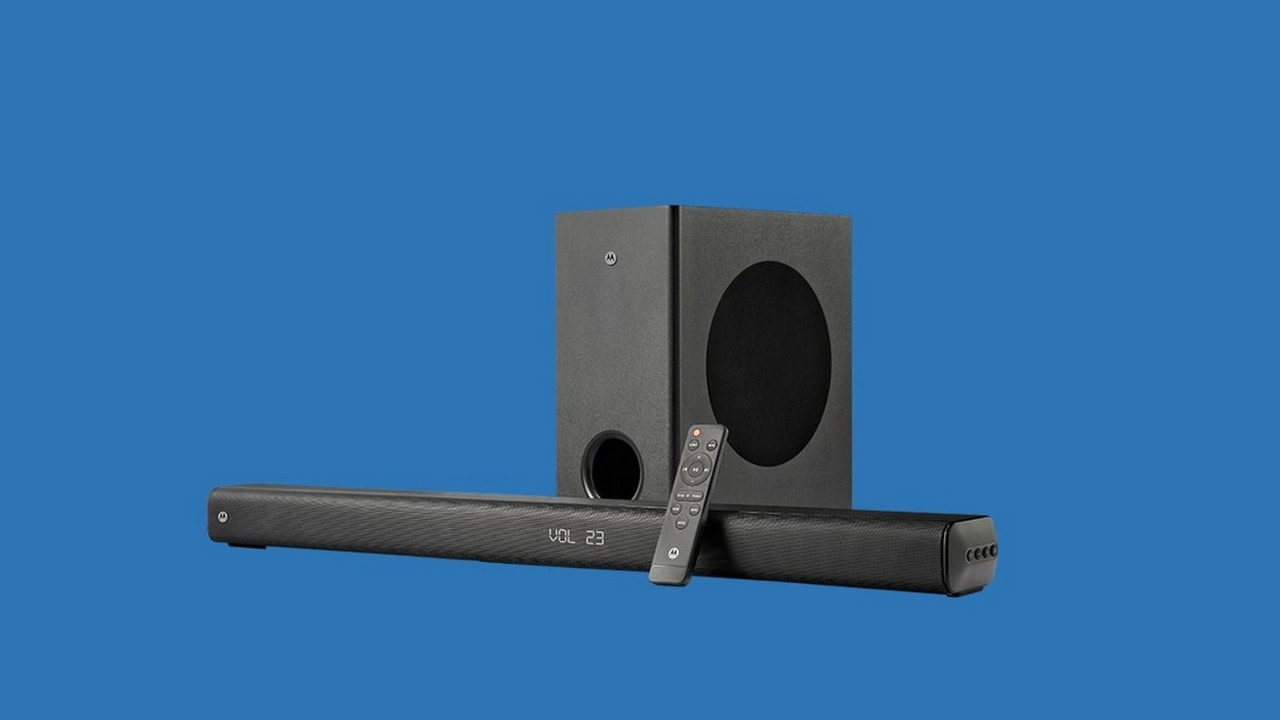 Motorola expands AmphisoundX range by launching two new soundbars at a starting price of Rs 7,499