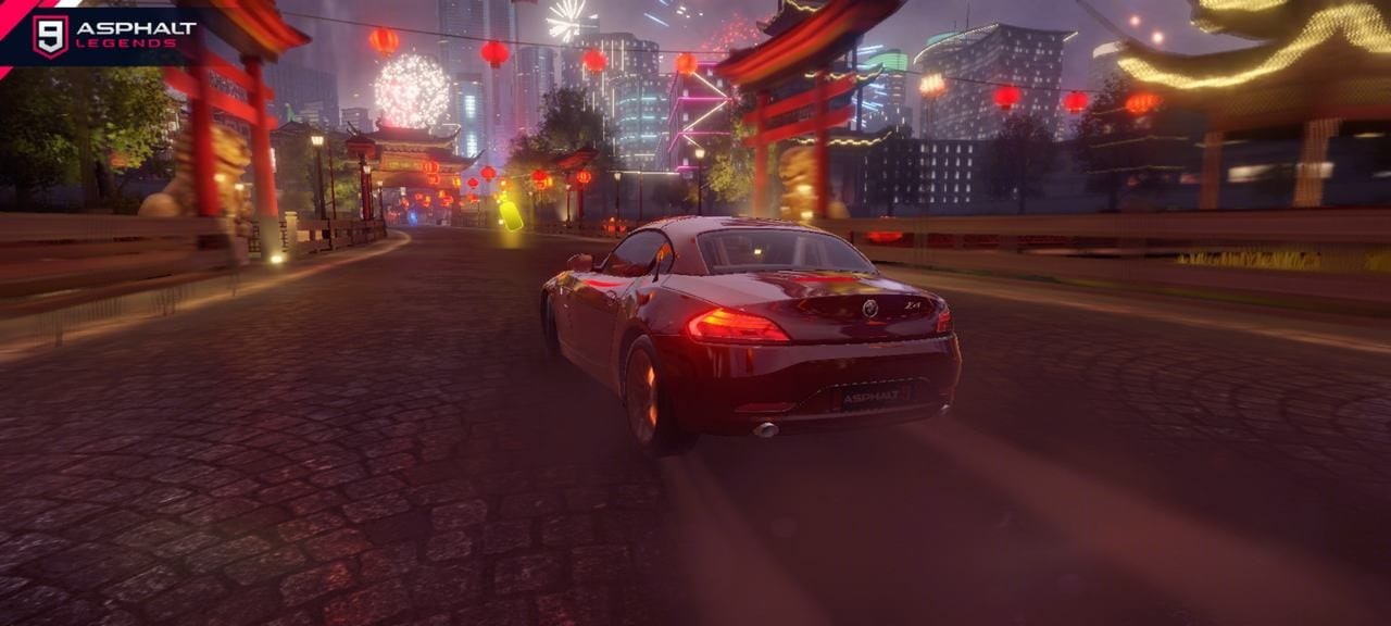 Asphalt 9 Legends at High Quality graphics settings on the Realme Narzo 20 Pro