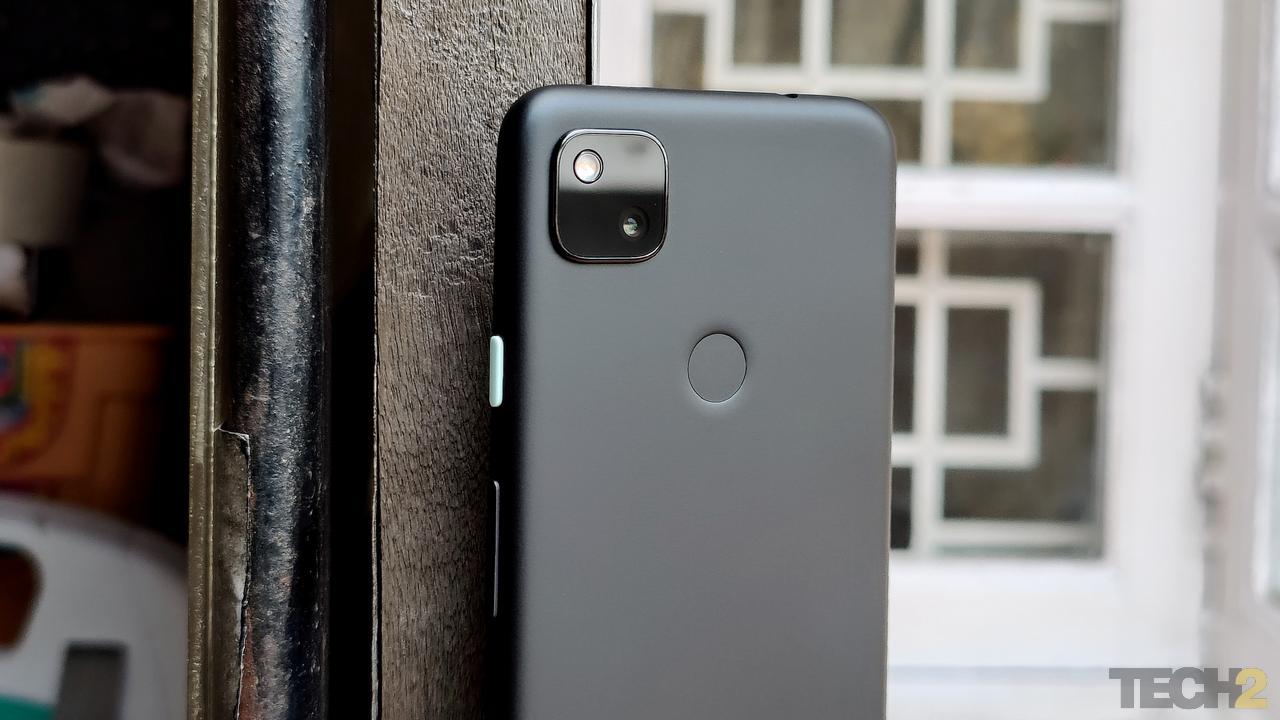 Google Pixel 4a. Image: Tech2/ Sheldon Pinto