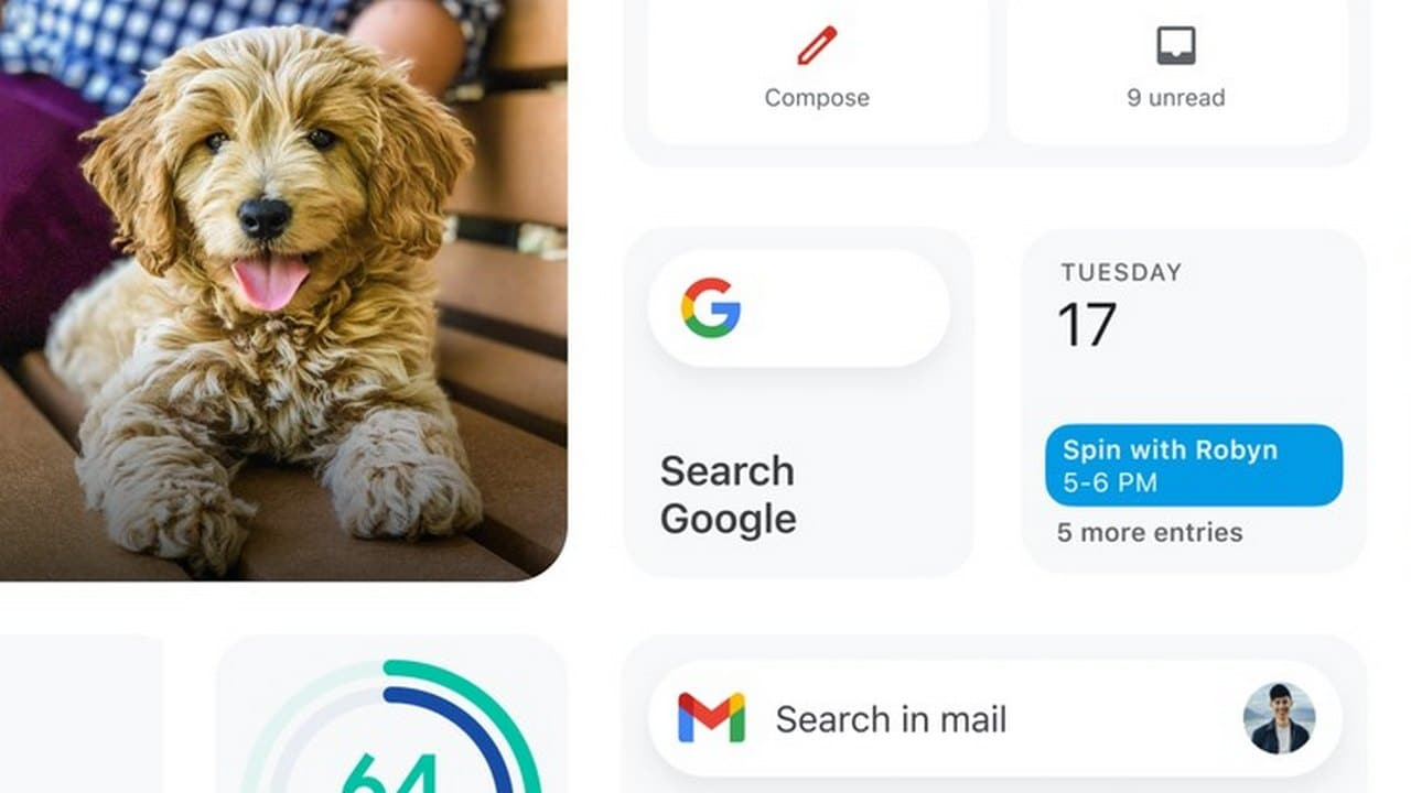 Google to soon roll out new widgets for Gmail, Google Drive and Fit for iOS users