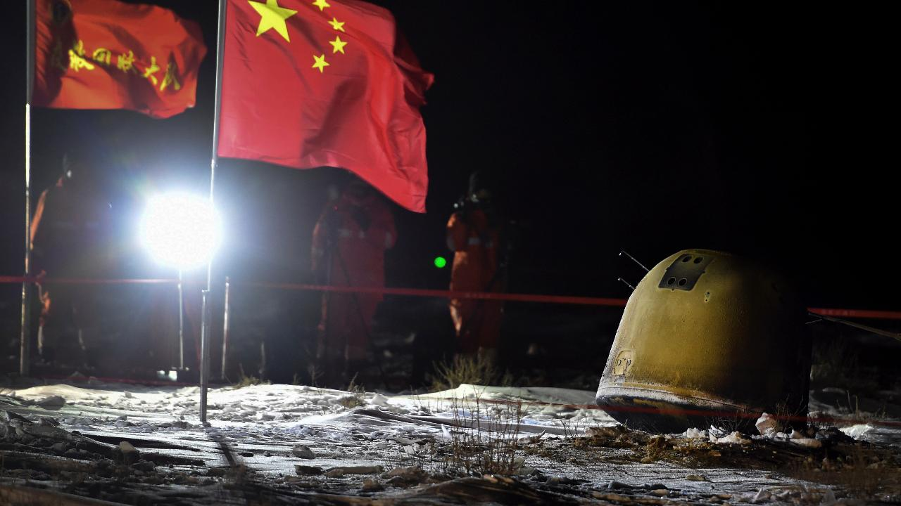 China's Chang'e 5 Lunar Probe Successfully Returns to Earth with Moon Samples