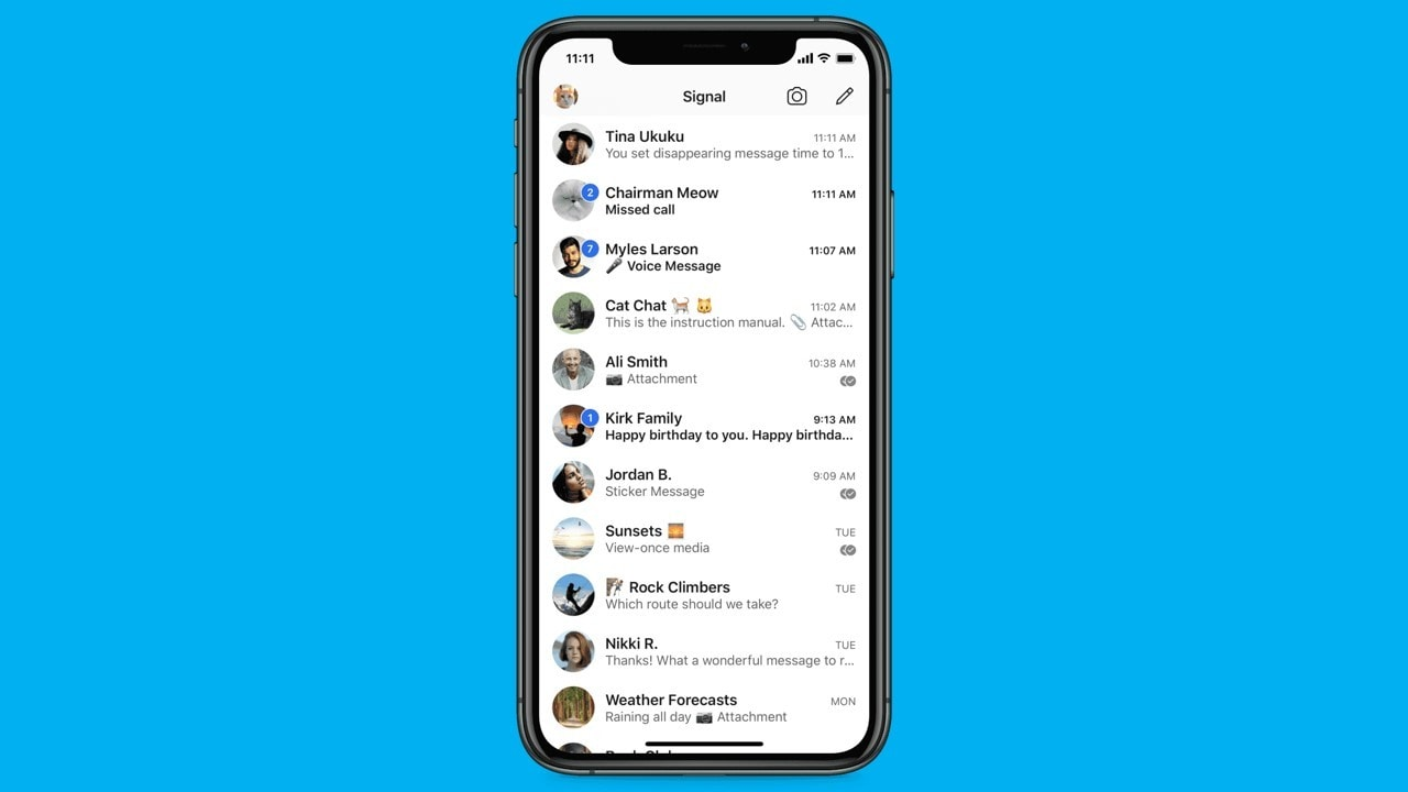 Signal to soon roll out chat wallpapers, animated stickers and more features for users in India