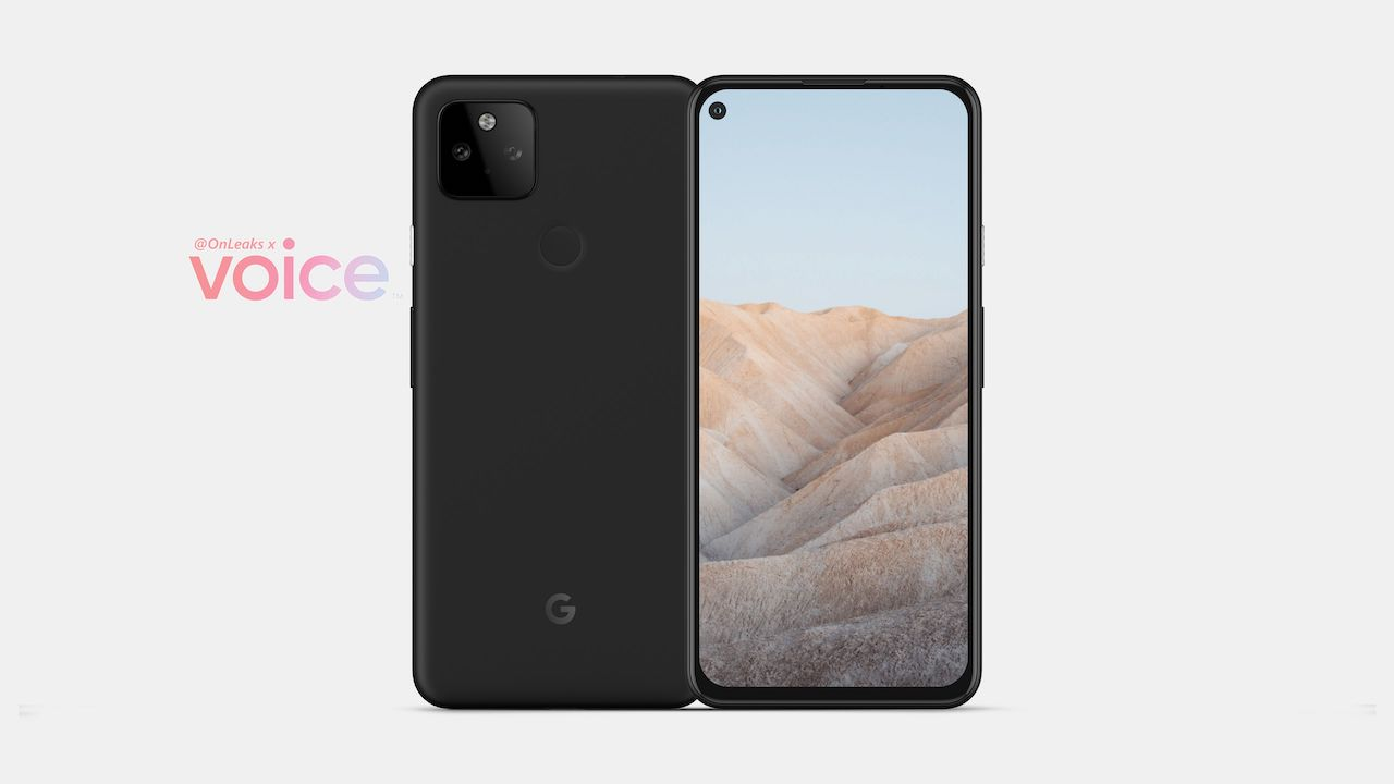 Google Pixel 5a with Pixel 4a-like design, single punch-hole camera, dual-rear camera setup leaked