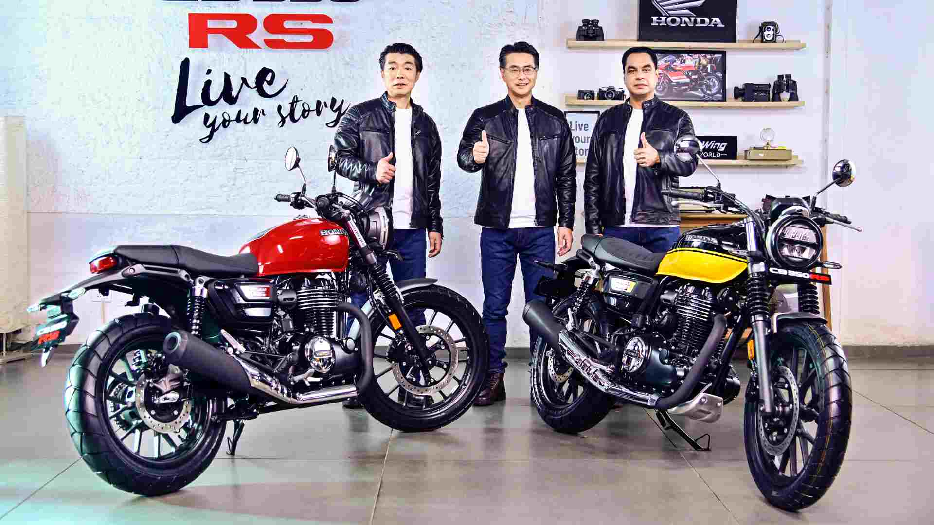 Honda CB350 RS launched in India at Rs 1.96 lakh; deliveries to commence in March