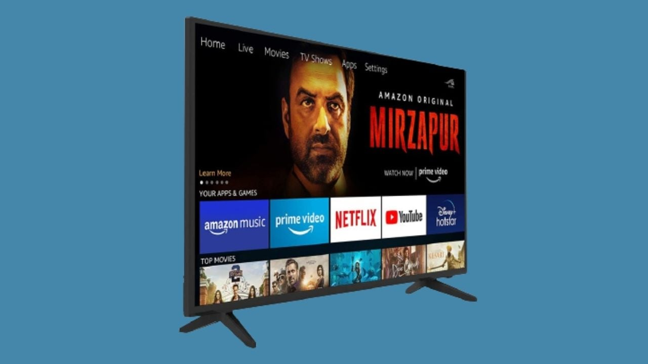 onida 32HIF Fire TV Edition Smart TV side-view