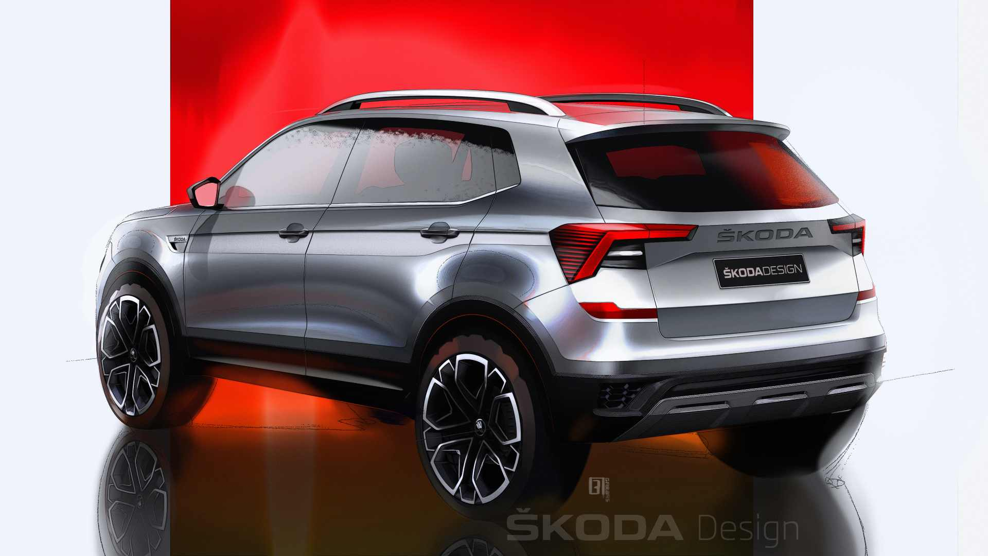 The Skoda Kushaq will be available with two turbo-petrol engine options. Image: Skoda