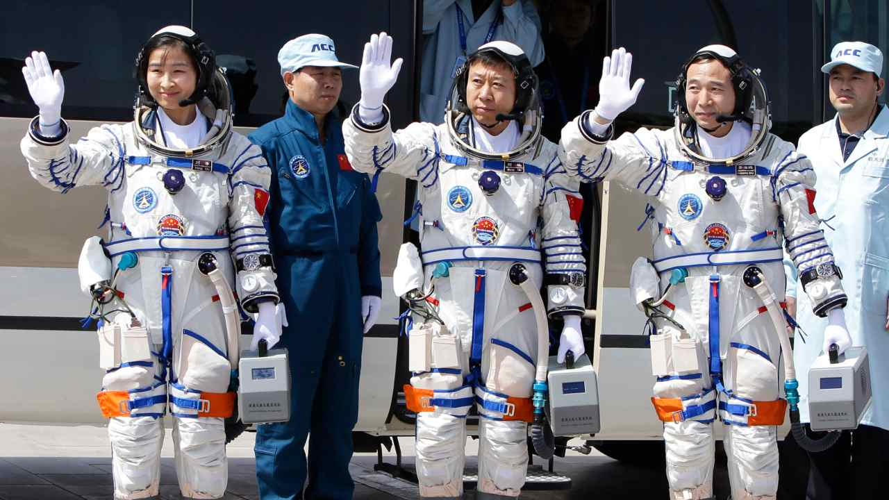 Chinese astronauts under training for crewed missions to space station in 2021: CNSA