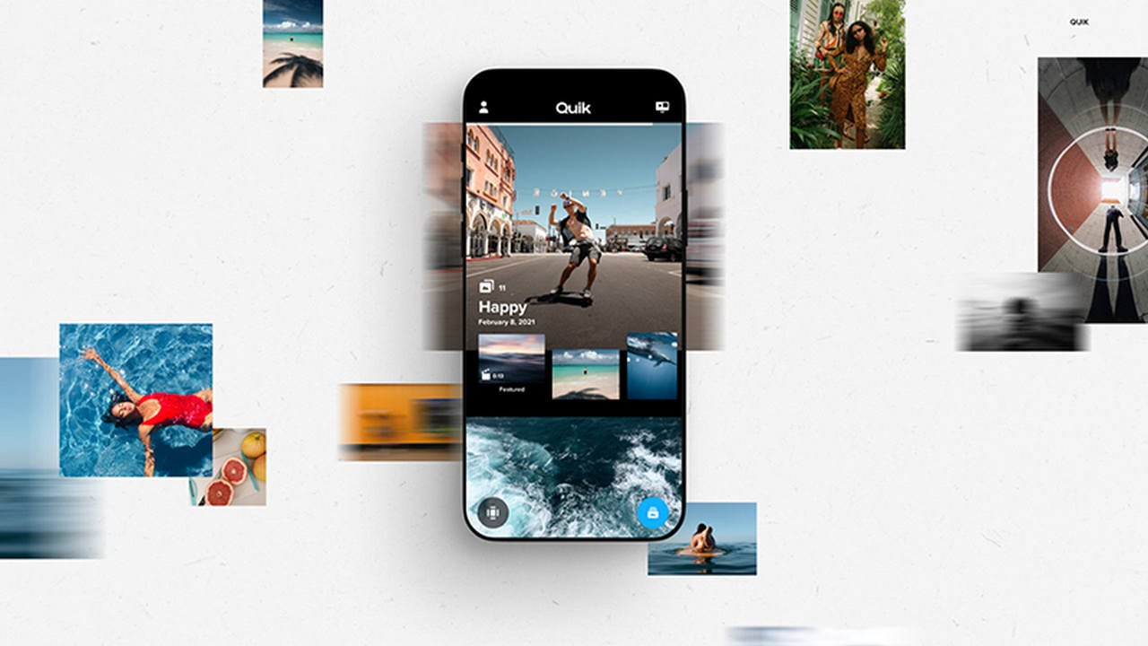 GoPro launches Quik app that has private feed for photos and videos called 'Mural'