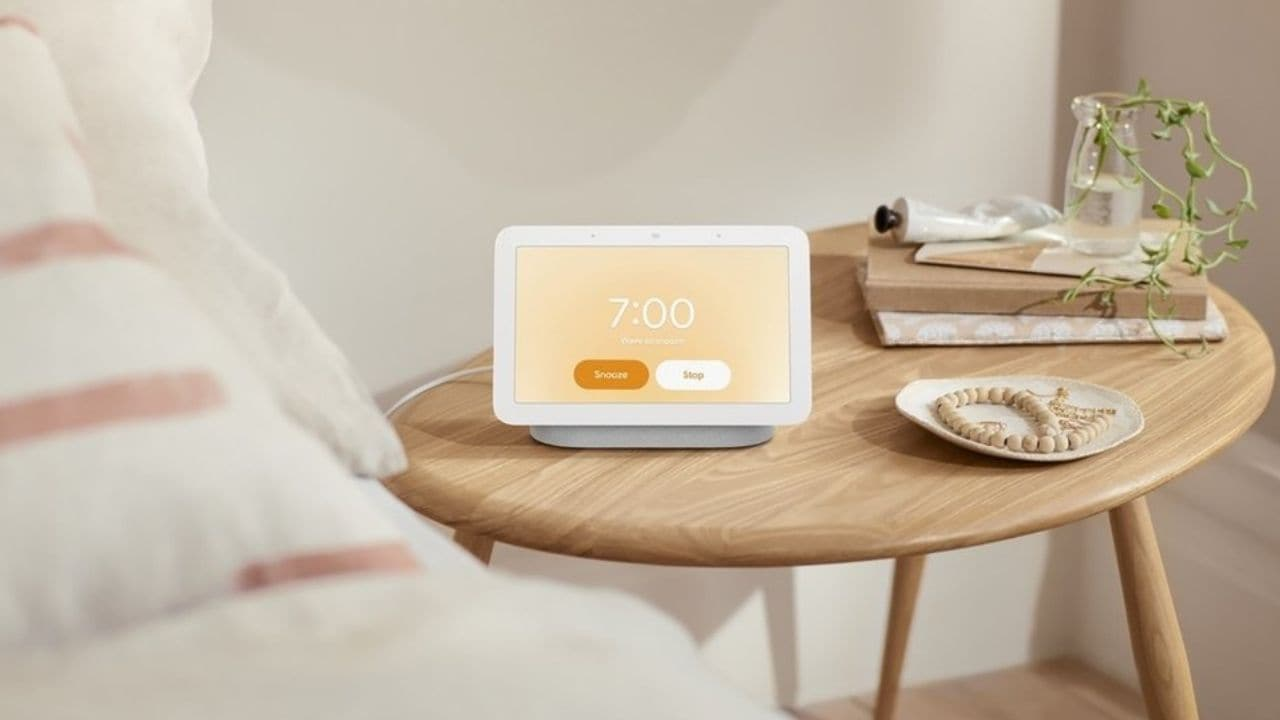 Google unveils new Nest Hub with 7-inch smart screen and a new sleep-sensing technology