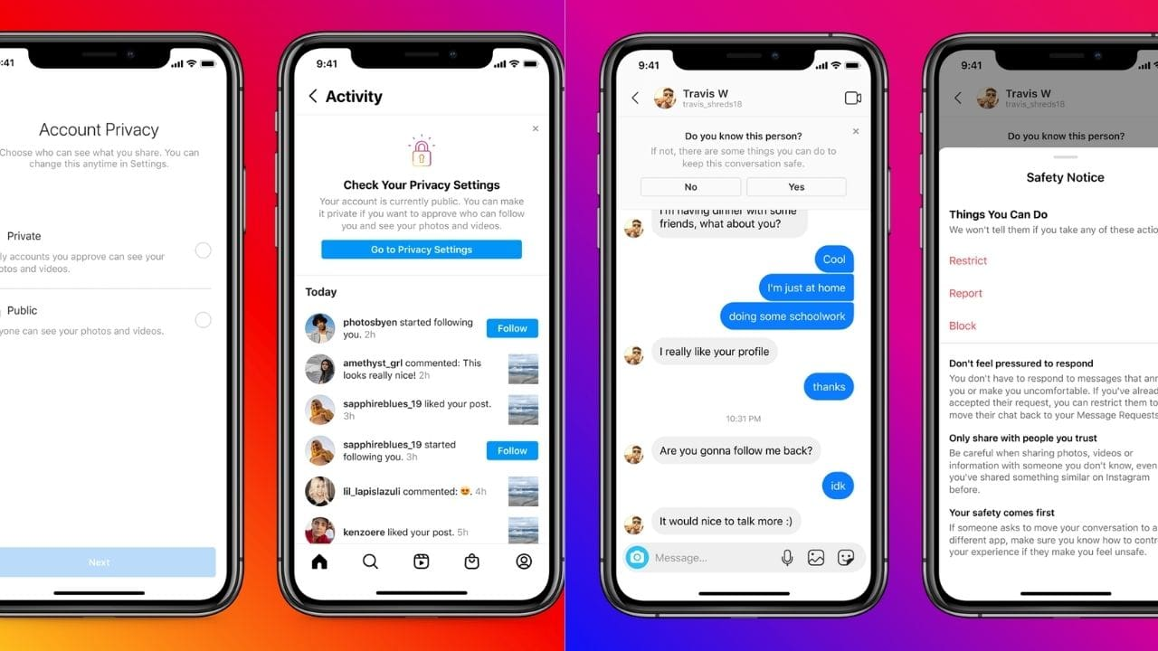 Instagram is developing new AI and ML tech to determine a users age at signup in an effort to find underage users