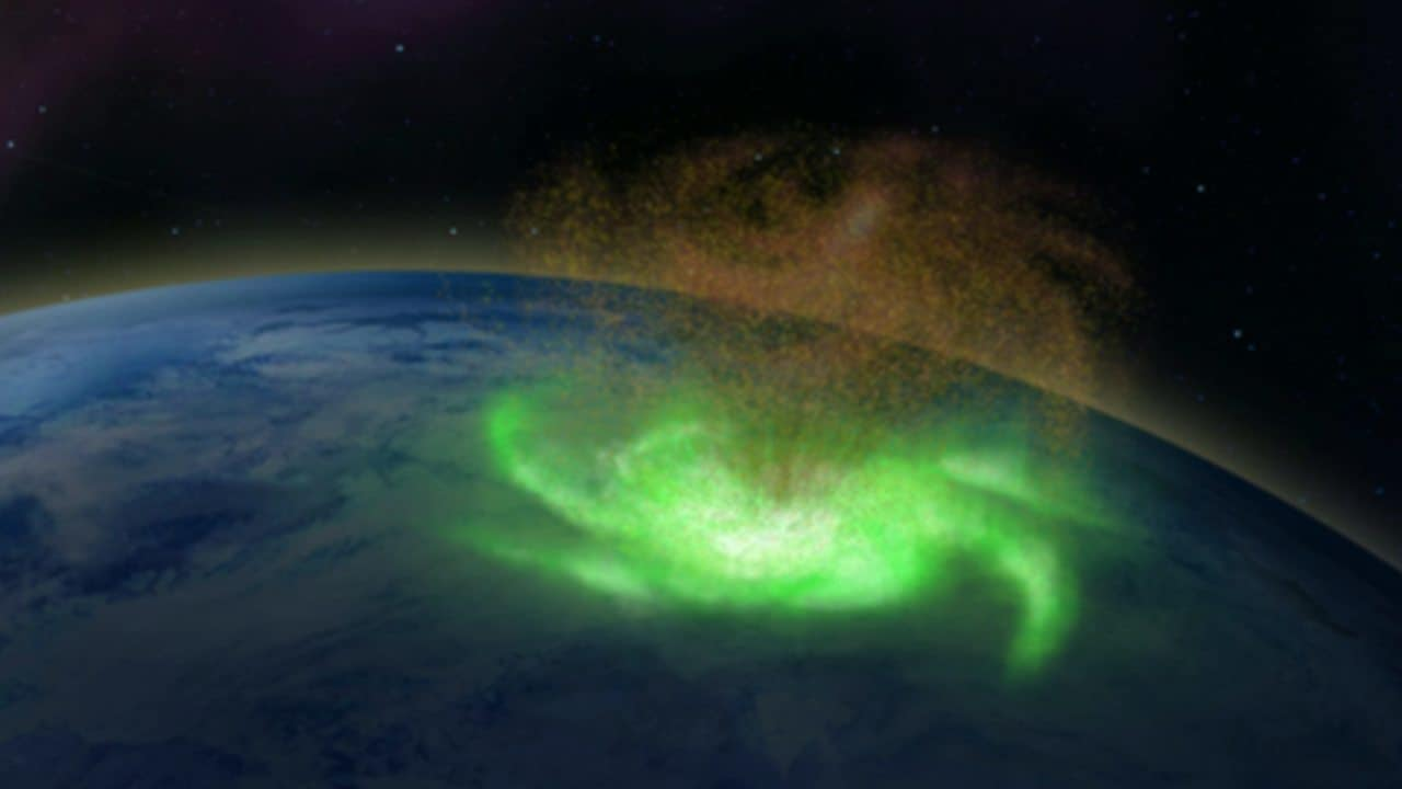 Space hurricane in 2014 rained electrons from a plasma cyclone in the upper atmosphere: Study