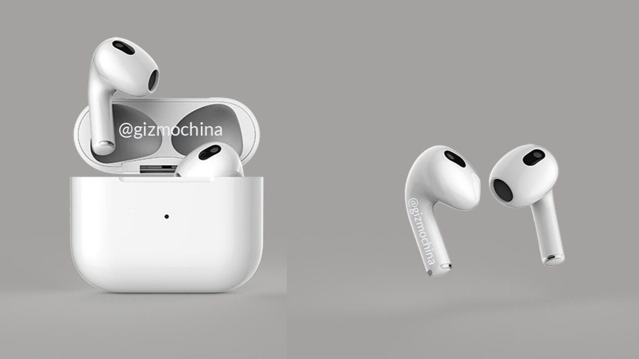 Apple AirPods 3 leak suggests shorter stem with changeable tips and more