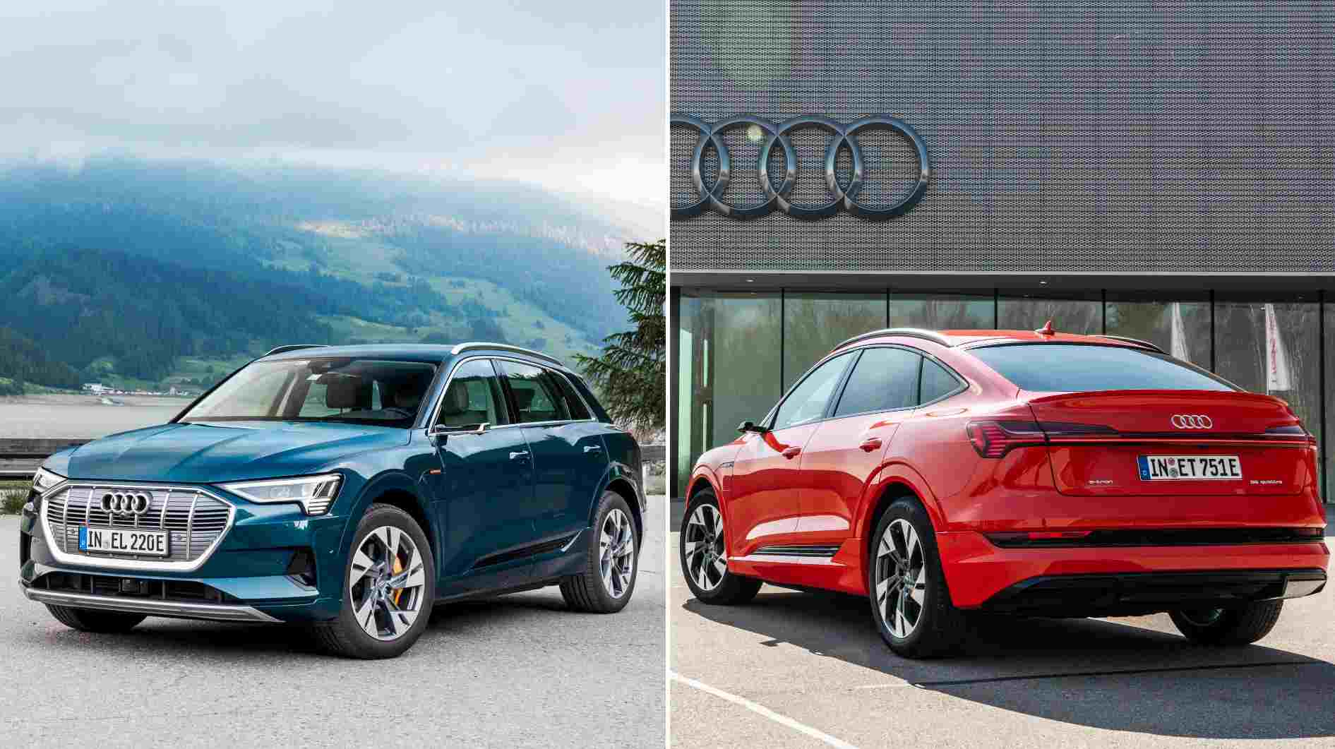 Audi e-tron, e-tron Sportback to be launched in India by mid-2021, more Audi EVs in the pipeline