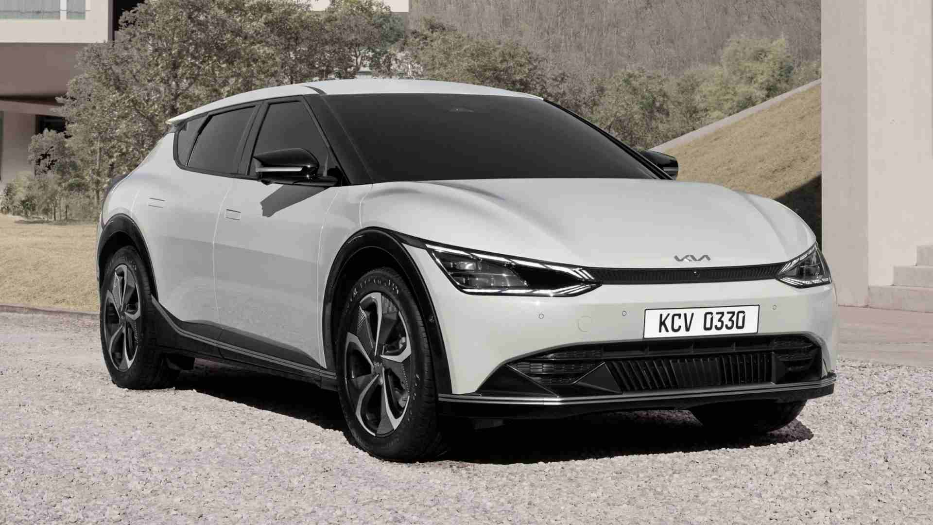 Kia EV6 is the brand's first dedicated all-electric vehicle, previewed ahead of world premiere