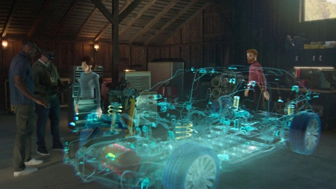 Microsoft Mesh will allow geographically distributed teams to meet and collaborate in shared mixed reality sessions where participants appear as digital representations of themselves. Image: Microsoft.