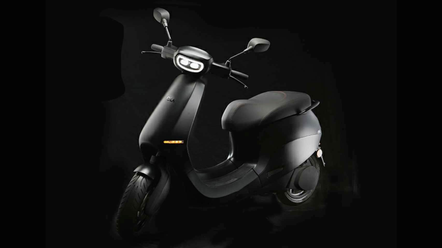 The Ola electric scooter's motor is expected to produce over 8 hp and up to 50 Nm of torque. Image: Ola Electric