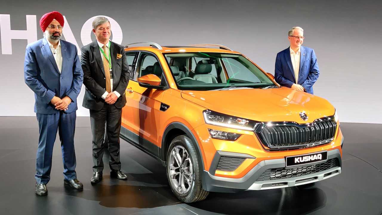 Skoda Kushaq SUV revealed in production form ahead of mid-2021 launch
