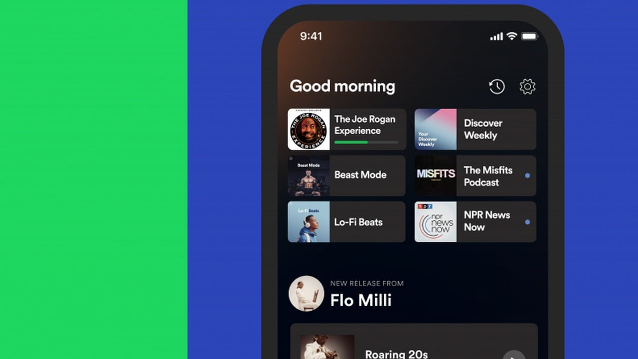 Spotify to roll out personalised Home hub for both iOS and android users