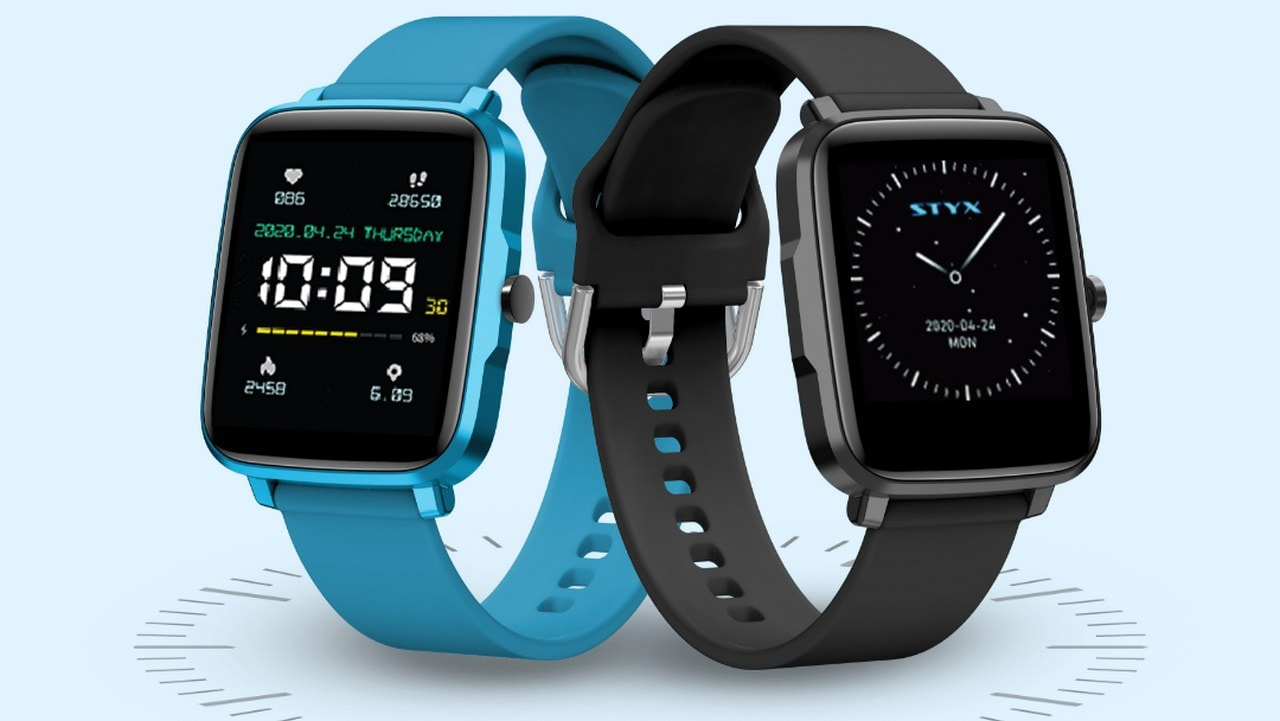 Styx Neo smartwatch with BP monitor, 15 day battery life launched at Rs 4,999