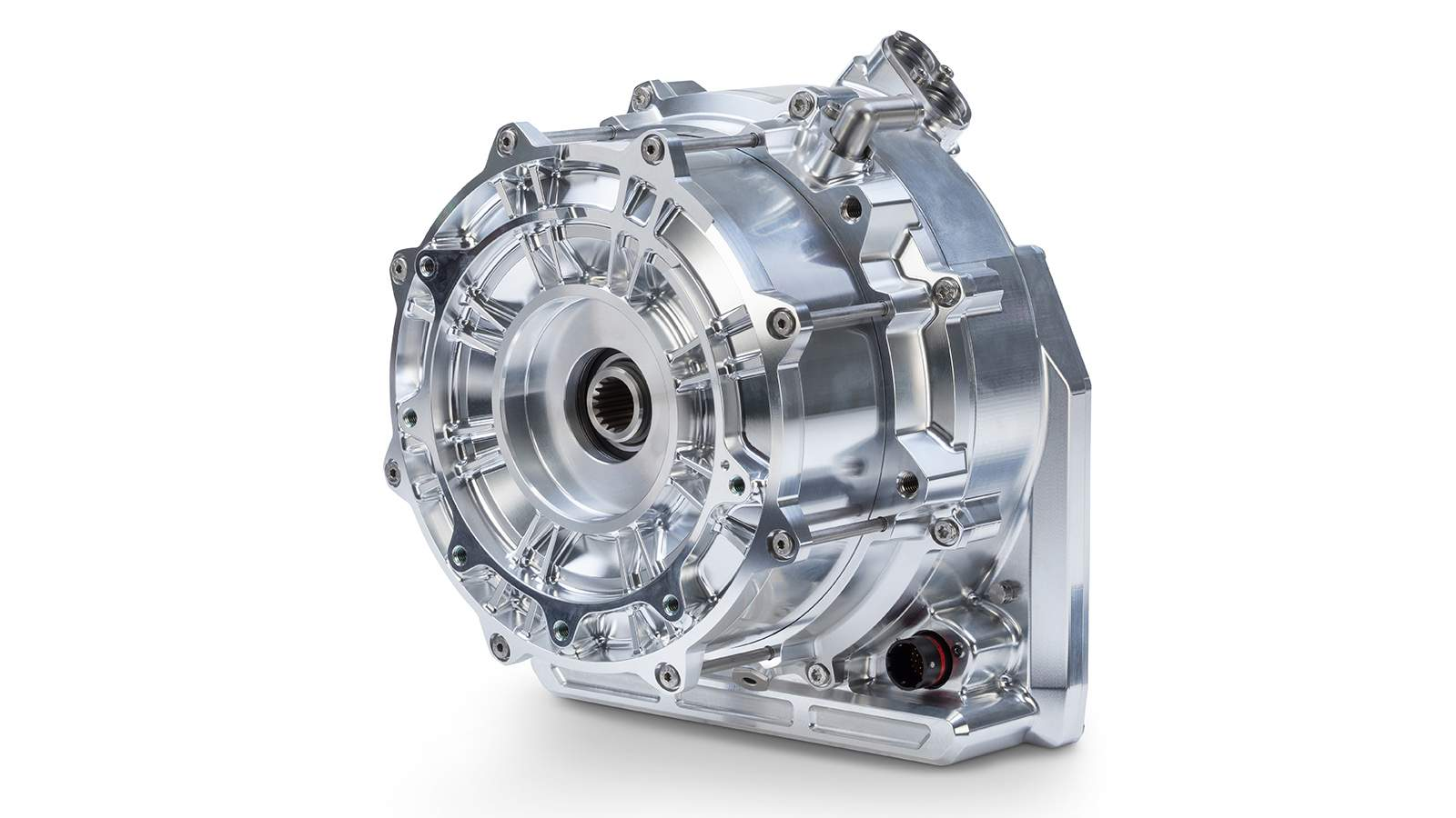 The Triumph Project TE-1's motor is said to make 180 hp and weigh just 10 kg. Image: Triumph Motorcycles